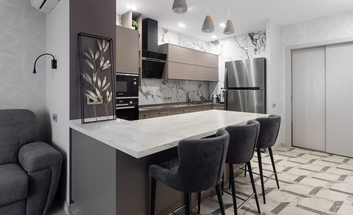 ЖК «Алые Паруса» 3-х комнатная квартира, ремонт квартиры по дизайн–проекту